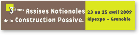 Assises Nationales Construction Passive