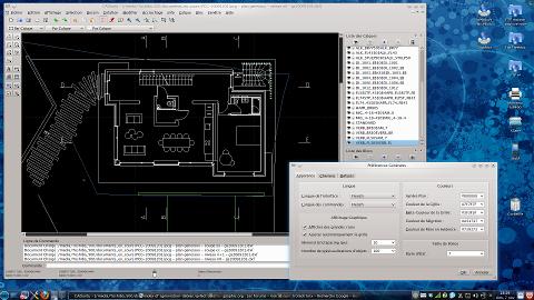 librecad logiciel libre de dessin technique 2d logiciels linux et os alternatifs forum. Black Bedroom Furniture Sets. Home Design Ideas