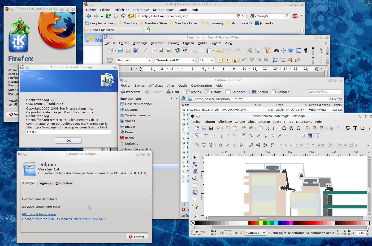 Linux for Maison passive